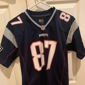 New England PatriotsYouthLarge RobGronkowskiJersey